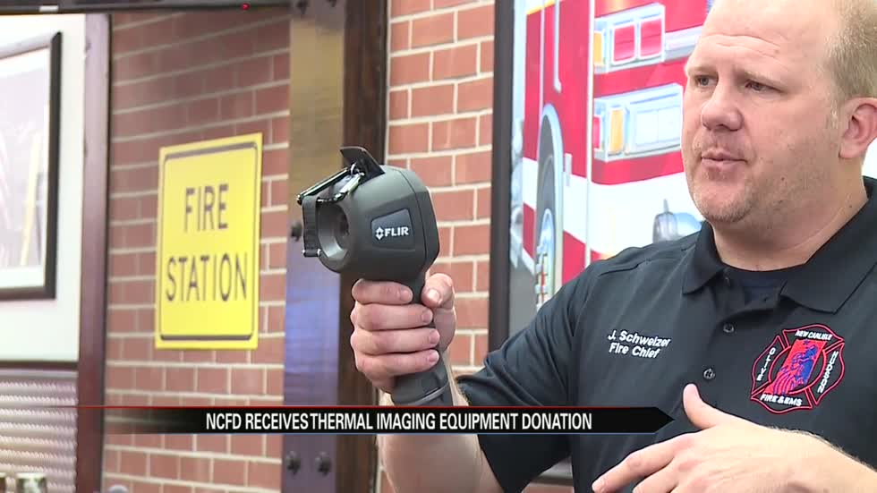 New Carlisle Fire Department receives new thermal imaging cameras
