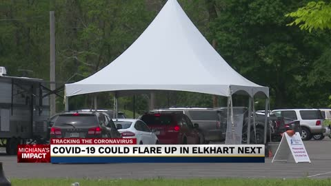 New data reveals Elkhart as next COVID-19 hotspot