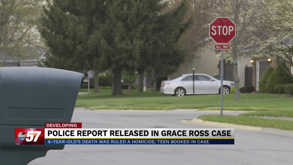Prosecutor's office releases details in murder of Grace Ross