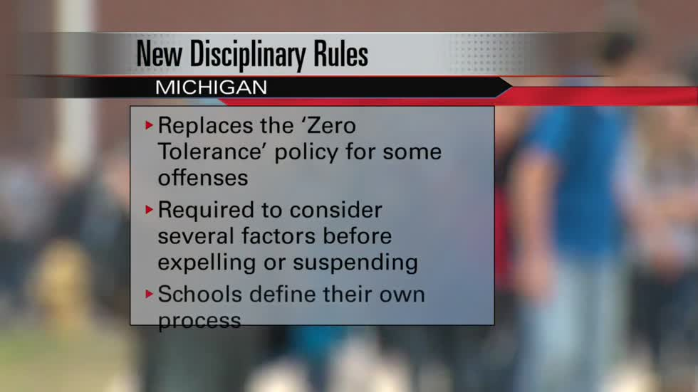 New disciplinary rules going into effect in Michigan