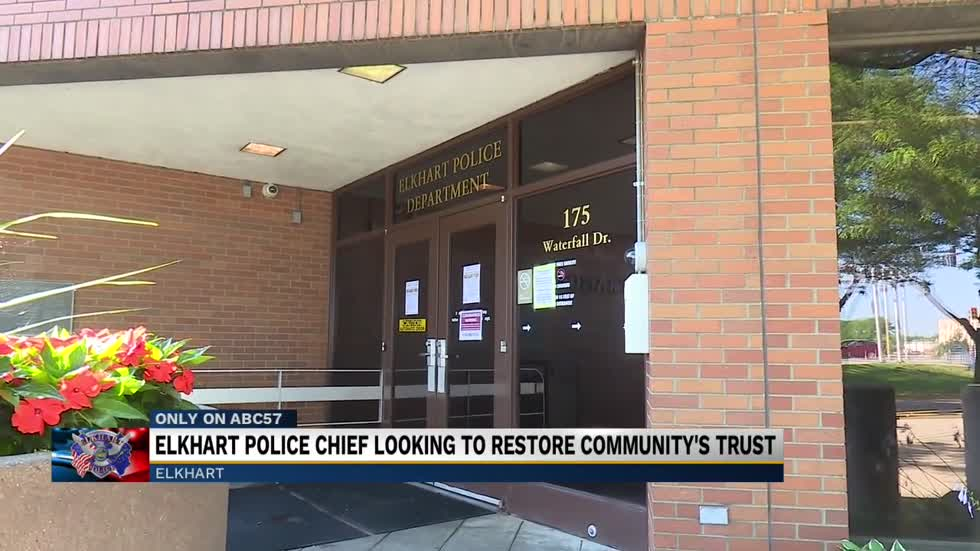 New Elkhart Police Chief talks plans for change