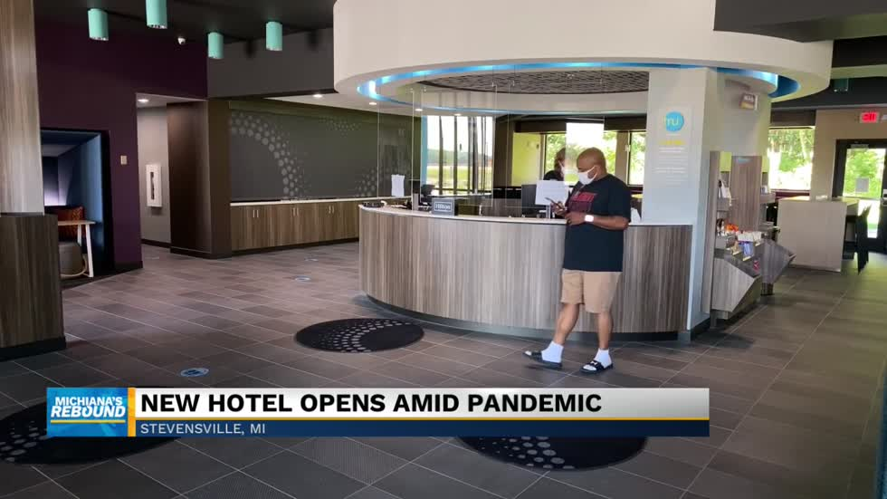 New hotel opens amid pandemic