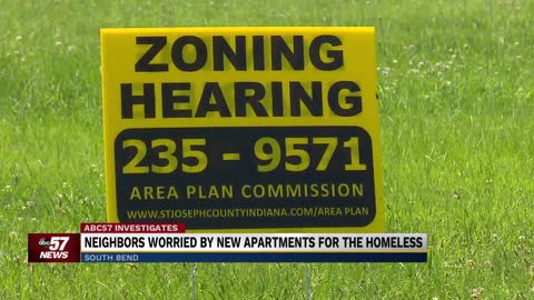 Neighbors concerned about new proposed apartments for homeless