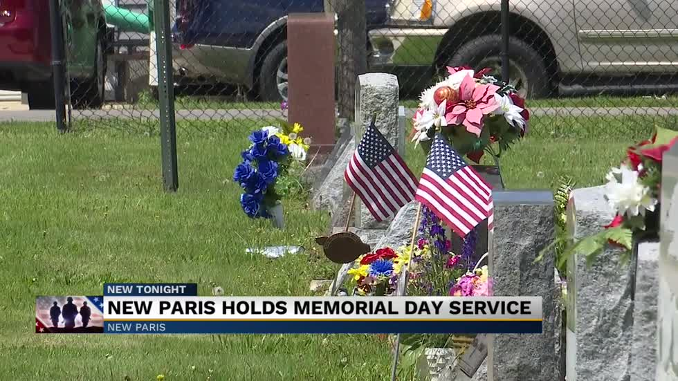 New Paris holds Memorial Day service