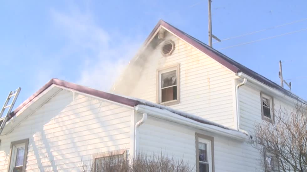 New Paris home damaged by fire