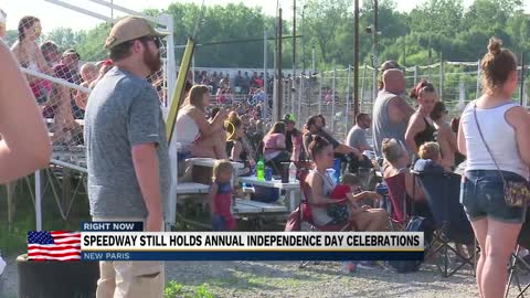 New Paris Speedway hosts Independence day celebration