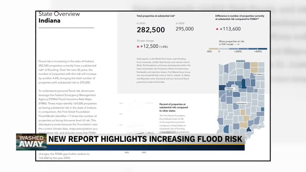 New report highlights increasing flood risk locally and nationally