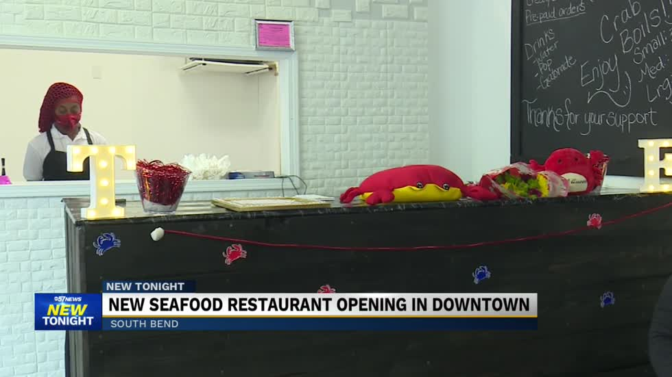 New seafood restaurant in downtown South Bend now open