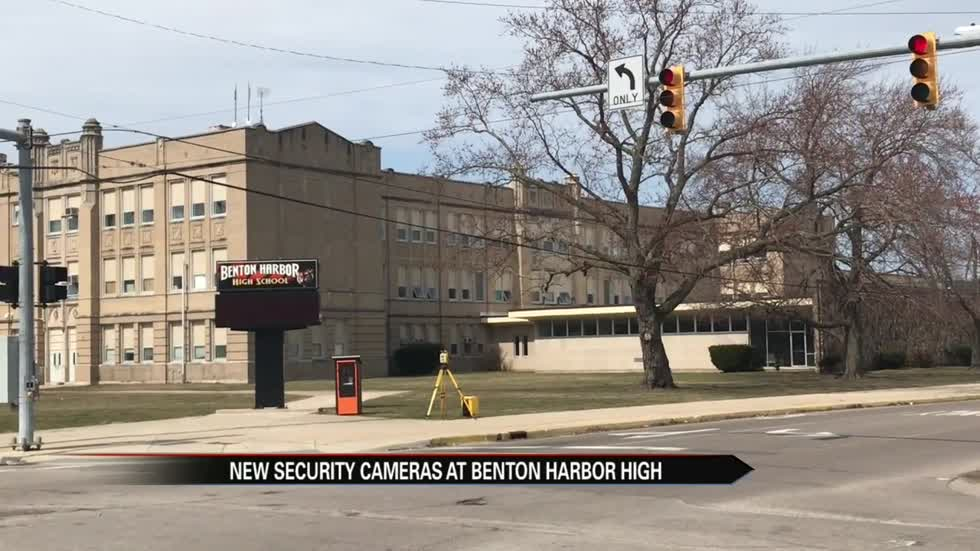 New security cameras coming to Benton Harbor High School