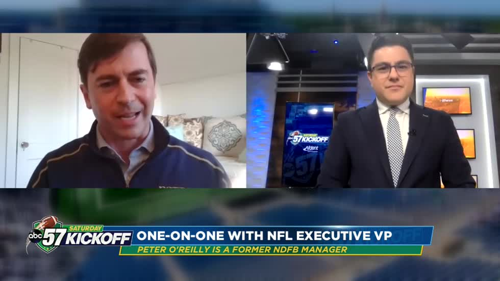 NFL's Peter O'Reilly weighs in on Notre Dame season, historic game