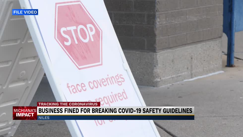 Niles business cited by state of Michigan for COVID-19 safety violations