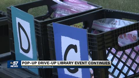 Niles Community Schools hosting more pop-up libraries