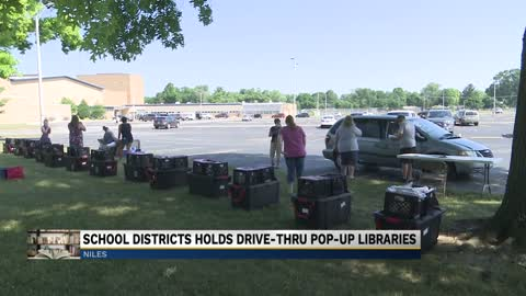Niles Community Schools hosting pop-up library events