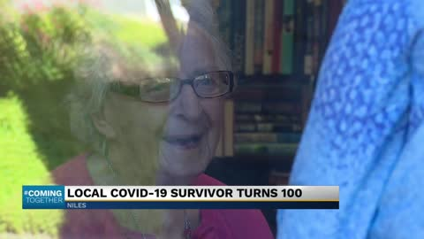 Niles COVID survivor turns 100