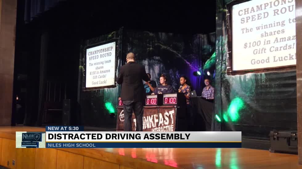 Niles High School working to lower teen destructive driving