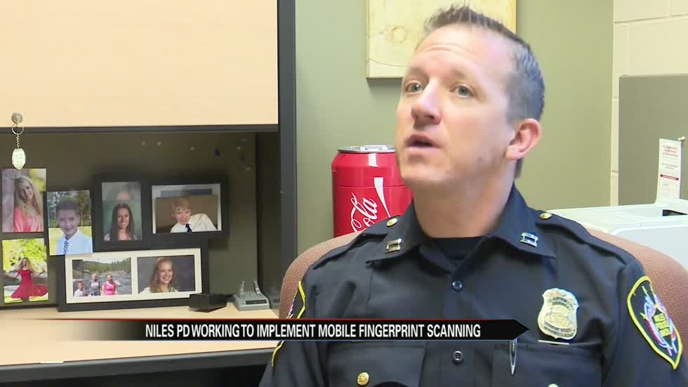 Niles Police working to implement mobile finger print scanning