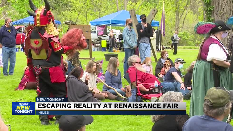 Niles renaissance fair is back at Plym Park