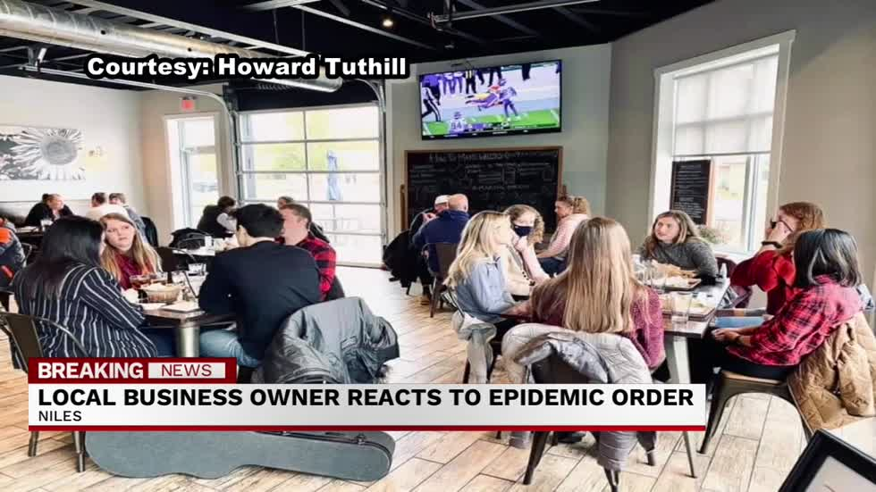 Niles Restaurant looks to community for help during Michigan's latest epidemic order