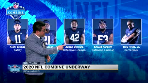 Nine former Notre Dame players invited to NFL Combine