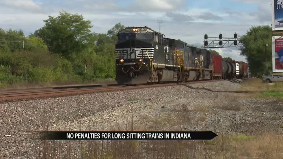 Indiana Supreme Court rules no more fines for long-sitting trains