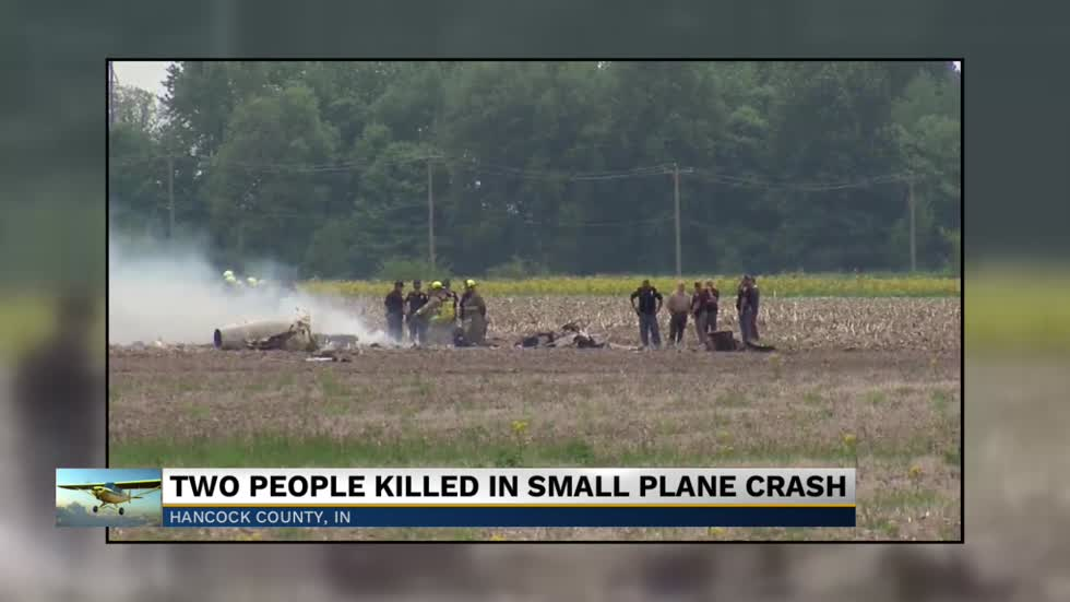 No survivors after plane crashes near Mount Comfort Airport