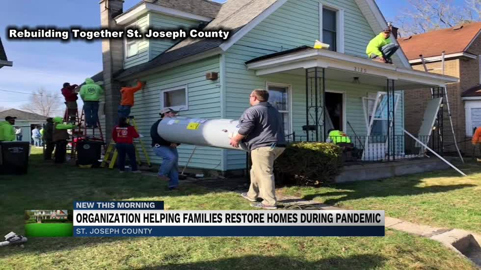 Non-profit organization continues to help homeowners during pandemic