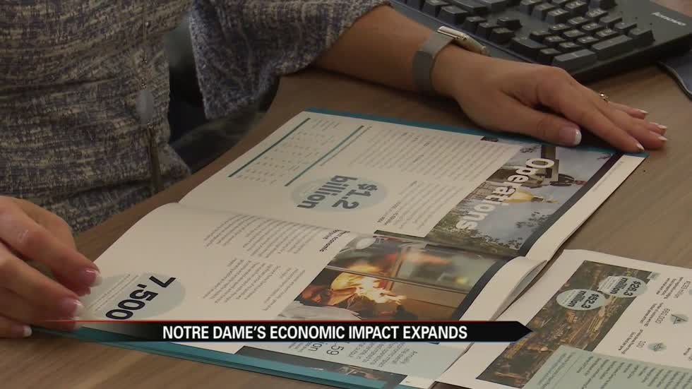 Notre Dame's economic impact study shows beneficial effects across the region