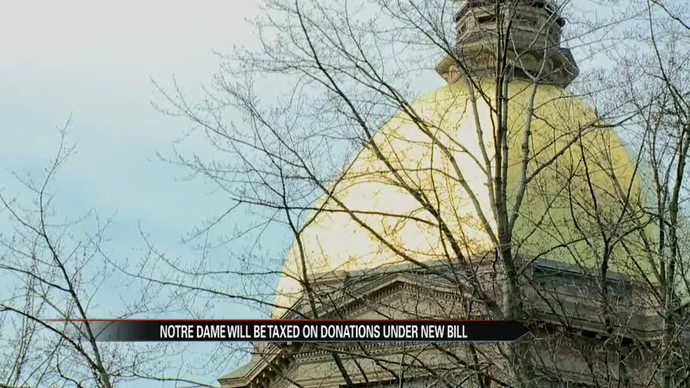 Notre Dame will pay millions in new endowment tax