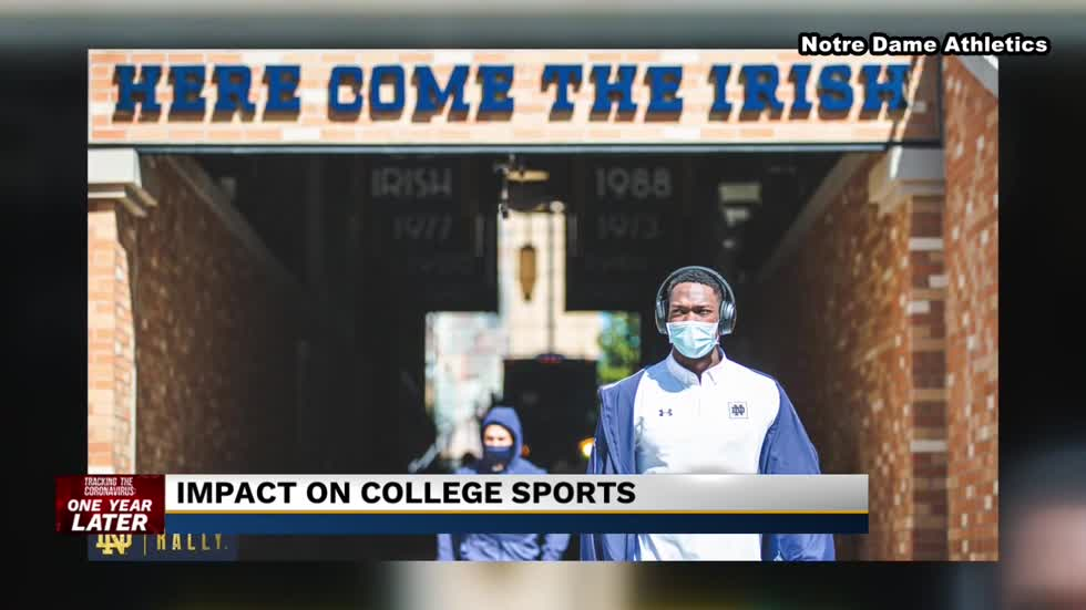 Notre Dame athletics forced to make changes due to COVID-19 pandemic