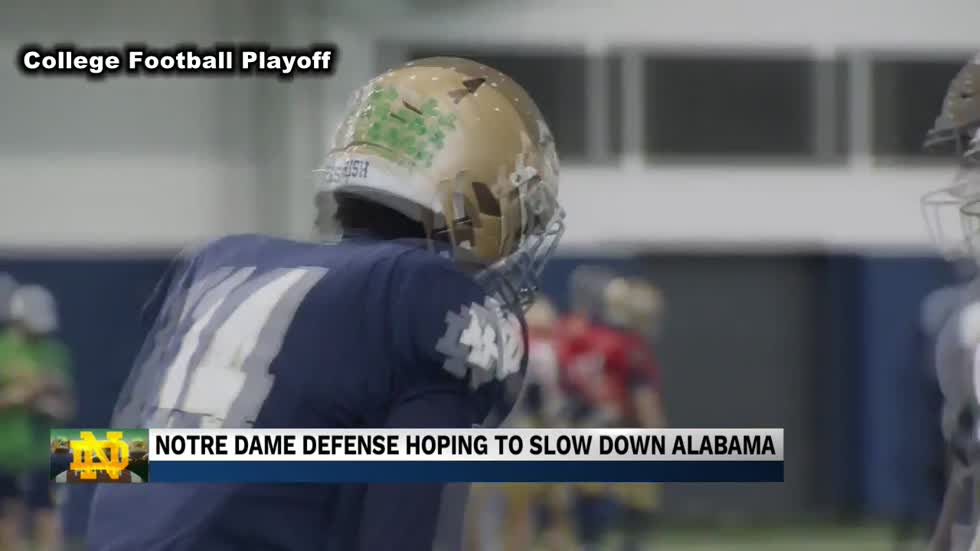 Notre Dame defense preparing for toughest test of the season
