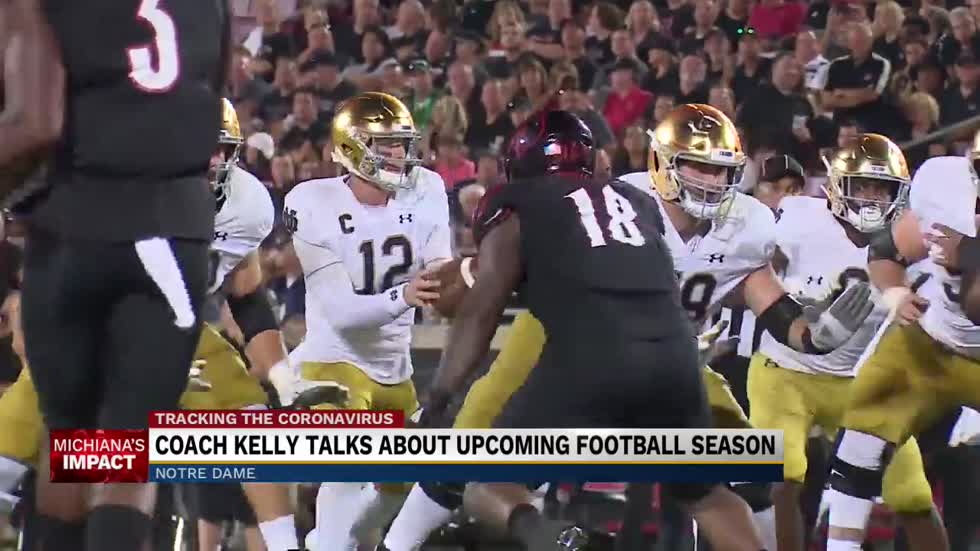 Notre Dame discussing alternatives to season opener in Ireland