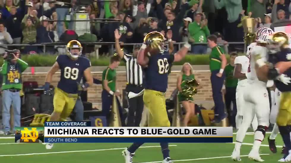 Notre Dame fans anticipate the start of football season