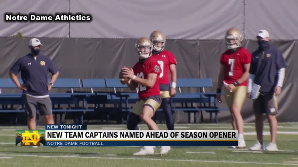 Notre Dame football announces 2020 captains
