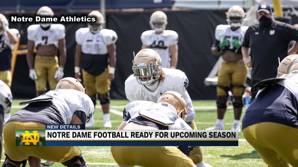 Notre Dame football ready for week one