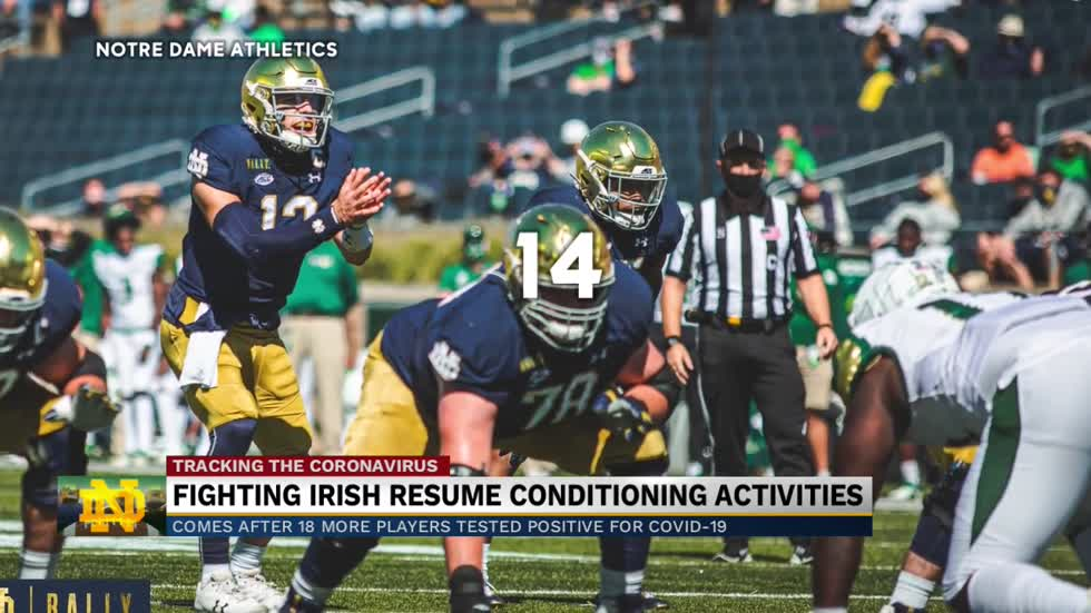 Notre Dame Football resumes conditioning amid COVID-19 outbreak...