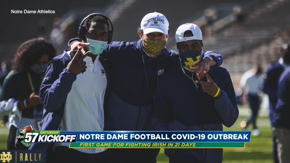 Notre Dame football team fighting to stay healthy despite COVID-19
