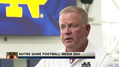 Coach Kelly explains how Notre Dame can become the standard for...