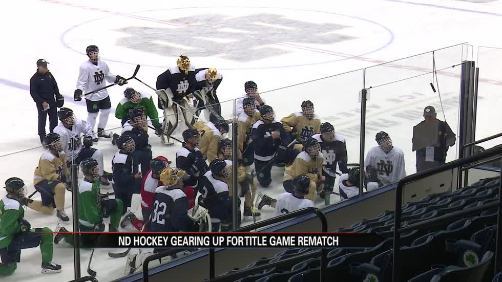 Title game rematch adds motivation for ND hockey home opener