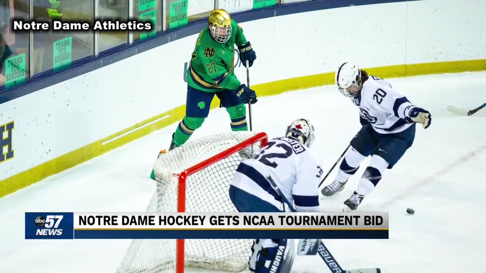 Notre Dame hockey gearing up for NCAA tournament