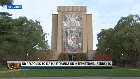 Notre Dame responds to proposed deportation policy of foreign...