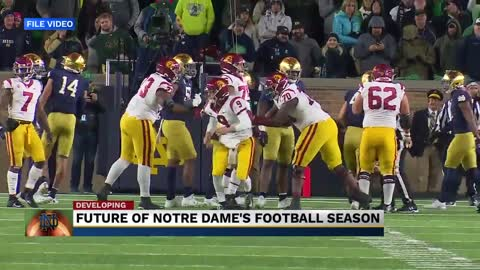 Notre Dame impacted by colleges moving to conference-only games