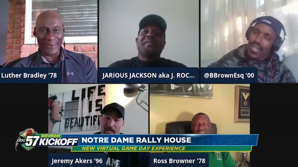 Notre Dame launches The Rally House for football fans