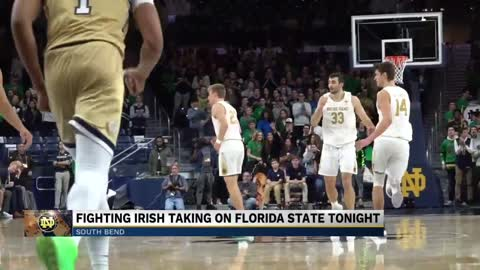Notre Dame men's basketball team fights to continue to NCAA tournament