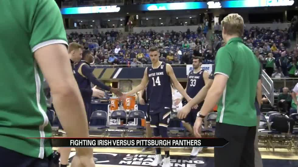 Notre Dame men's basketball team finishes regular season with loss to Pitt