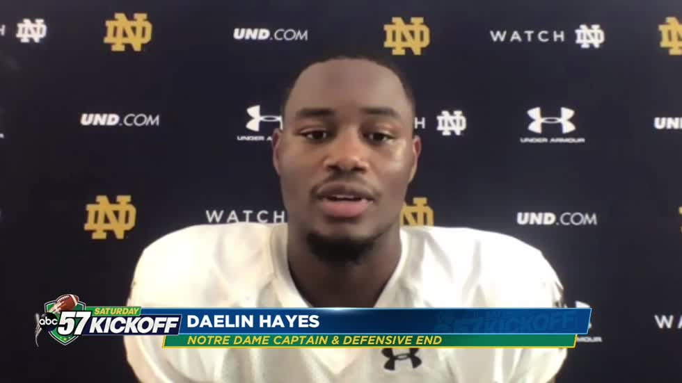 Notre Dame players focused on nothing but the here and now