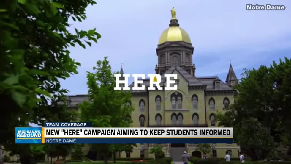 Notre Dame releases campaign to remind students to stay safe