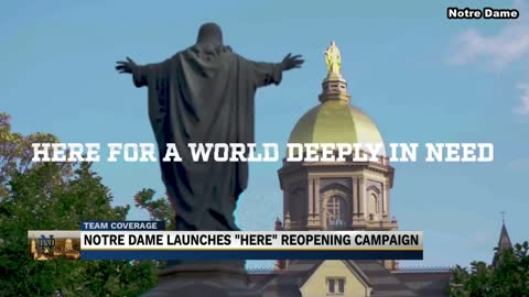 Notre Dame releases campaign to remind students to stay safe...