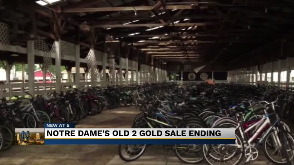 Notre Dame gets rid of Old2Gold sale, gives donations to Goodwill instead