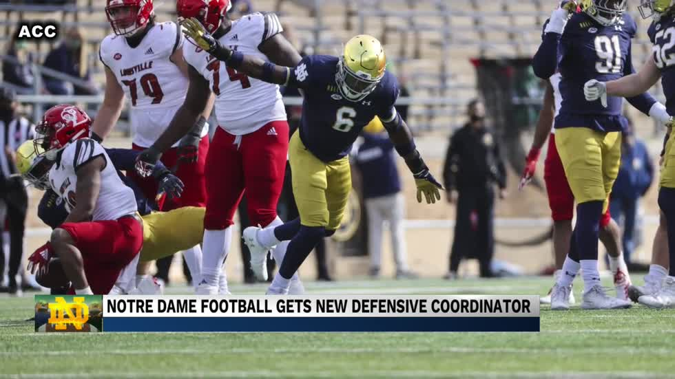 Notre Dame's new Defensive Coordinator looks to help the Irish remain dominant