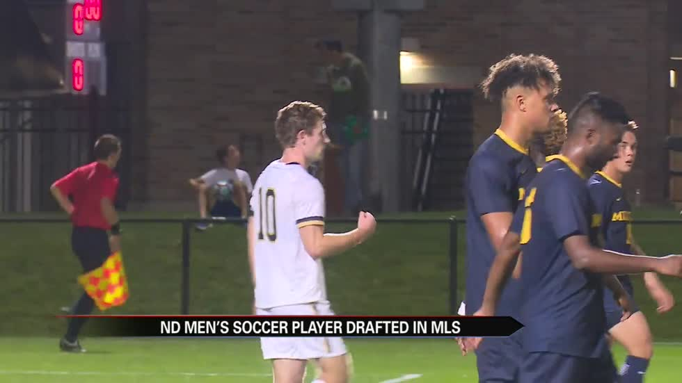 Notre Dame soccer's Gallagher selected in first round of MLS Draft
